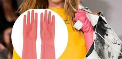 Calvin Klein trình làng 'găng tay rửa bát' giá 390 USD
