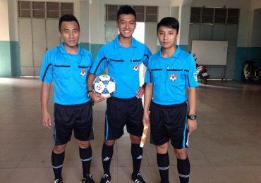 Người gây gổ với HLV Chu Đình Nghiêm là trọng tài ở giải hạng Nhất