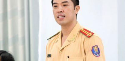 Trung tá 37 tuổi làm Trưởng phòng CSGT Công an Tp.HCM