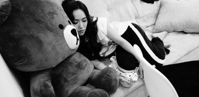 Diệu Nhi ngủ gật nhiều lần trong khi tập luyện minishow