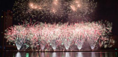 Pháo hoa kỳ ảo của Ba Lan trên bầu trời Đà Nẵng