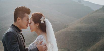 Ảnh cưới ngọt ngào lãng mạn của Lâm Vũ và bà xã xinh đẹp