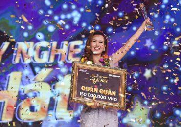 Ca sĩ Võ Hạ Trâm đăng quang quán quân 'Hãy nghe tôi hát 2018'