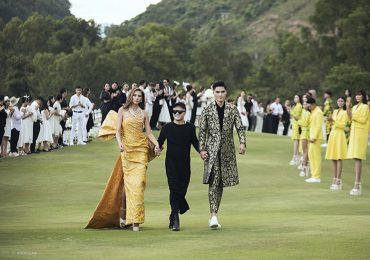 Võ Hoàng Yến làm vedette trong show Đỗ Mạnh Cường
