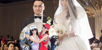 'Bạn song hành' Trần Hiền vắng mặt khó hiểu trong đám cưới Diệp Lâm Anh