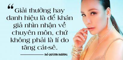 Hồ Quỳnh Hương: Cát-sê của tôi đã 'chạm nóc' tại Việt Nam