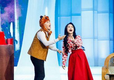 Cặp đôi hài hước: Sơn Ca – Bảo Chu ngất xỉu ngay trên sân khấu khi gặp…ma