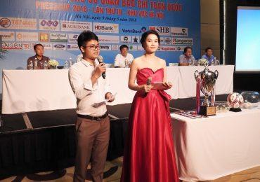 Diễn viên Lương Giang làm MC chương trình 'Press Cup 2018'