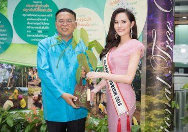Hoa hậu Du lịch toàn cầu 2018 – Nguyễn Diệu Linh kêu gọi bảo vệ môi trường