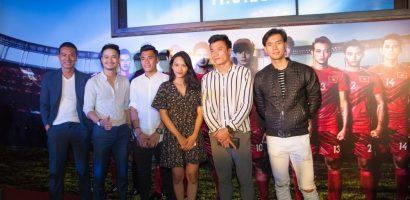 Các cầu thủ U23 Việt Nam hào hứng đi xem phim '11 niềm hy vọng'