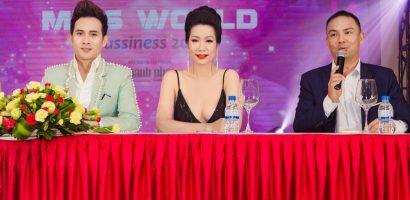 Á hậu Trịnh Kim Chi quyến rũ trong vai trò giám khảo cuộc thi nhan sắc