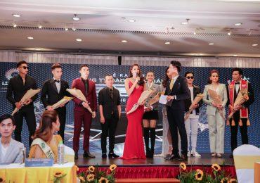 Hoa hậu Phạm Hương, Á hậu Mâu Thuỷ hội ngộ Nam vương Ngọc Tình tại sự kiện
