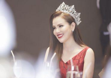 Hoa hậu Phương Lê khoe sắc vóc cuốn hút tại sự kiện mới