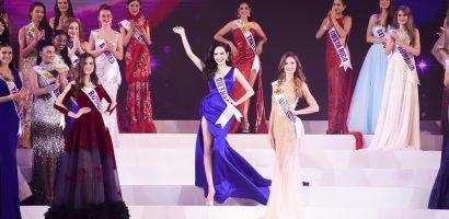 Diệu Linh nhận danh hiệu 'Miss Global Tourism' tại 'Nữ hoàng du lịch toàn cầu 2018'