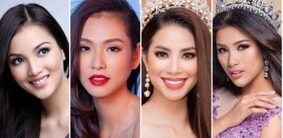 Những nhan sắc gây tiếc nuối tại cuộc thi 'Hoa hậu Việt Nam'