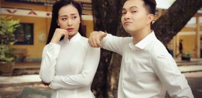 Nam Cường rủ Hà Thuý Anh ra MV Bolero 'Tuổi học trò'