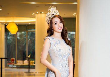 Hoa hậu Mi Mi Trần lộng lẫy, kiêu sa trong loạt ảnh mới