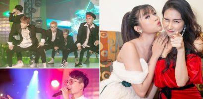 Trịnh Thăng Bình, Hòa Minzy và Zero9 'quẩy hết mình' tại sự kiện