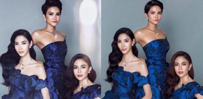 Hoa hậu Hoàn vũ H'Hen Niê bị photoshop tới mức không nhận ra