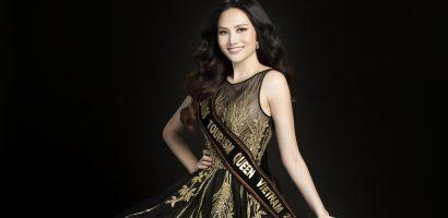 Hoa hậu Diệu Linh đại diễn Việt Nam thi 'Nữ hoàng Du lịch Quốc tế 2018'