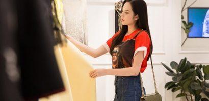 Diệu Linh mang hơn 30 bộ trang phục đến 'Miss Tourism Queen International 2018'