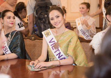Diệu Linh đẹp dịu dàng trong bộ quốc phục Thái Lan