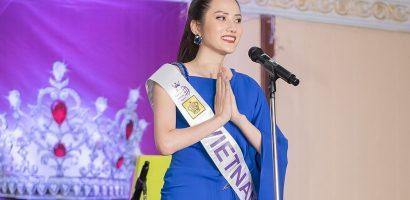 Diện đầm xanh nổi bật, Diệu Linh 'chặt đẹp' dàn thí sinh MTQI2018