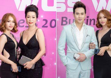 Người đẹp Thiên Vũ tự tin tỏa sáng tại 'Hoa hậu Thế giới Doanh nhân 2018'