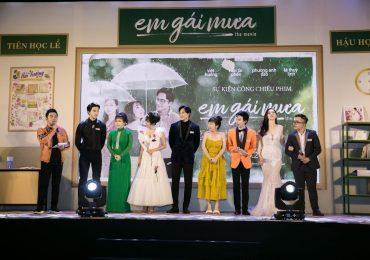 Trung Quân idol và Đức Phúc xuất hiện tại sự kiện công chiếu phim 'Em gái mưa'