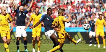 Pogba bị tước bàn quyết định trong trận đấu Australia