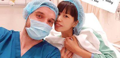 Siêu mẫu Hà Anh sinh con gái đầu lòng nặng 4.4kg