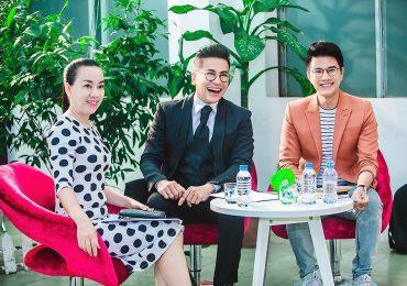 'Thầy trò' Thanh Bạch – Vũ Mạnh Cường chấm thi người dẫn chương trình