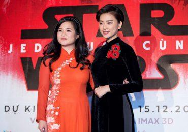 Đạo diễn 'Star Wars' bảo vệ nữ diễn viên gốc Việt bị kỳ thị