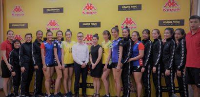 Đội tuyển bóng chuyền nữ Tp.HCM có nhà tài trợ trang phục mới