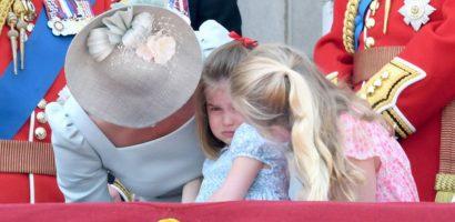 Công nương Kate đã sử dụng 2 kỹ năng làm mẹ để Charlotte không khóc nhè