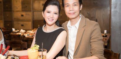 Ca sĩ Đinh Hiền Anh cùng Lệ Quyên mừng Hoàng Hải với dự án mới