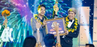 Akira Phan và Võ Tấn Phát trở thành quán quân 'Cặp đôi hài hước' mùa 2