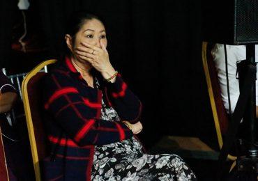 Nghệ sĩ Kim Phương bật khóc nghe con trai hát về chồng đã mất