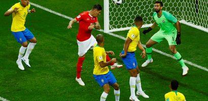 Neymar tịt ngòi, Brazil bị Thụy Sĩ cầm hòa ở trận ra quân