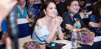 Diễn viên Dương Cẩm Lynh diện đầm hở vai dự sự kiện