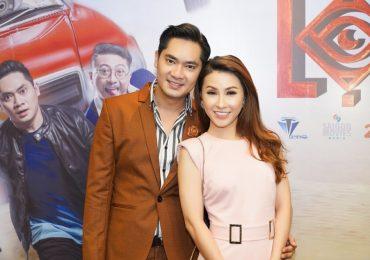 Minh Luân thân mật với 'người tình màn ảnh' Vĩnh Thuyên Kim