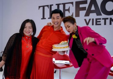 Nam Trung đón sinh nhật bất ngờ tại trường quay 'The Face 2018'
