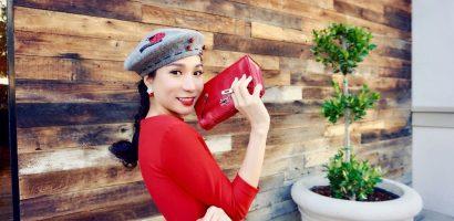 Hoa hậu Saila Nguyễn tái xuất cực nổi bật sau chấn thương nghiêm trọng ở chân