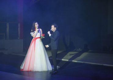 Bất ngờ với giọng hát của Hoa hậu Mỹ Linh khi song ca cùng Dương Triệu Vũ