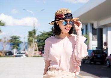 Hoa hậu Hà Kiều Anh đẹp kiêu sa, thần thái rạng ngời tại Quy Nhơn