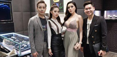 Diện set đồ 700 triệu đồng, Jolie Nguyễn đọ dáng cùng Hoa hậu Kỳ Duyên