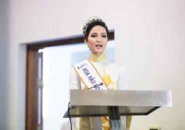 Hoa hậu H'Hen Niê truyền cảm hứng cho cộng đồng dân tộc thiểu số