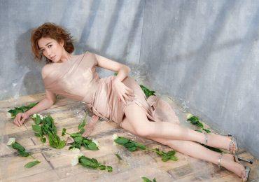 Vóc dáng gợi cảm của Thúy Ngân – nàng dâu đanh đá của phim 'Gạo nếp gạo tẻ'