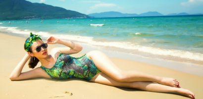 Á hậu Thanh Trang khoe body gợi cảm với bikini