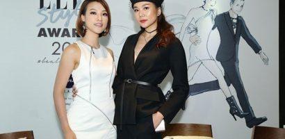 Thanh Hằng, Hoàng Oanh vui vẻ hội ngộ trong sự kiện giải thưởng thời trang